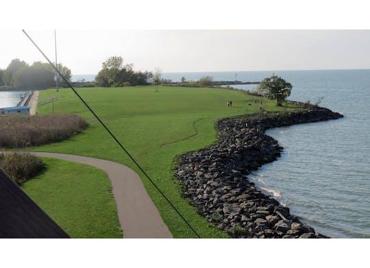Lake Erie Canopy lake view