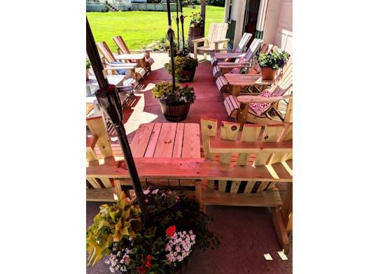 Red Barn Cellars Porch Facebook