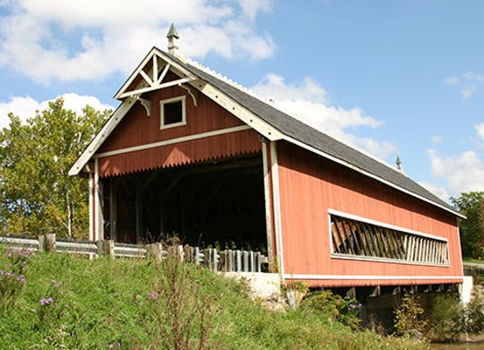 Netcher Road Covered Bridge