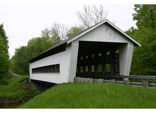 Giddings Road Covered Bridge 1