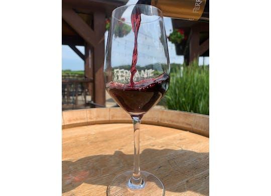 Ferrante wine pouring
