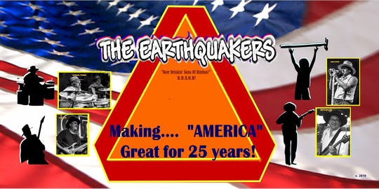 The Earthquakers (Live Music)