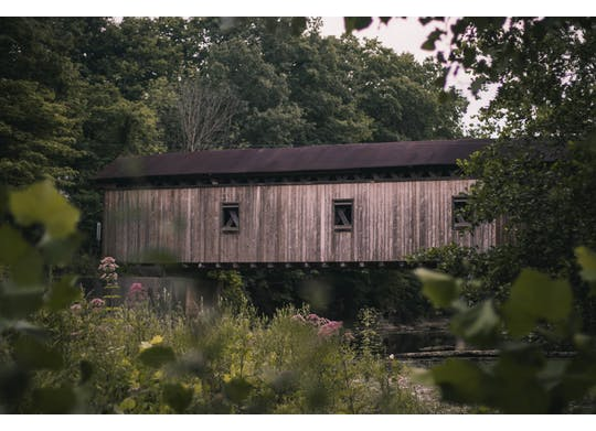 Olin Covered Bridge 1