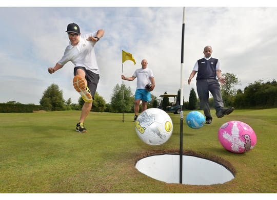 Footgolf Hole Cup 3Balls