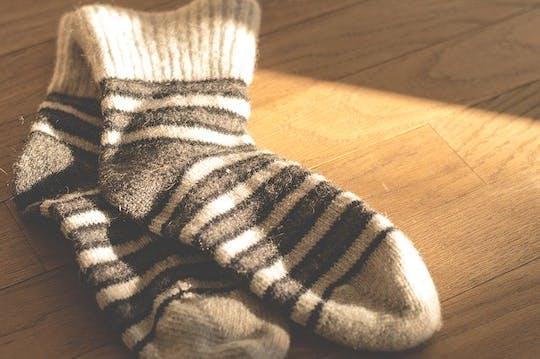 Burning Of The Socks Stock Photo
