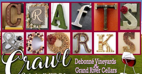 8Th Annual Crafts And Corks Crawl