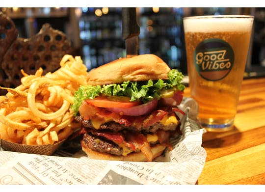 Sparkys double burger