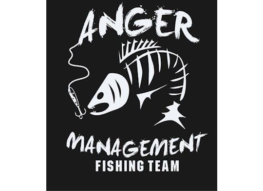 Anger Management Fishing Logo