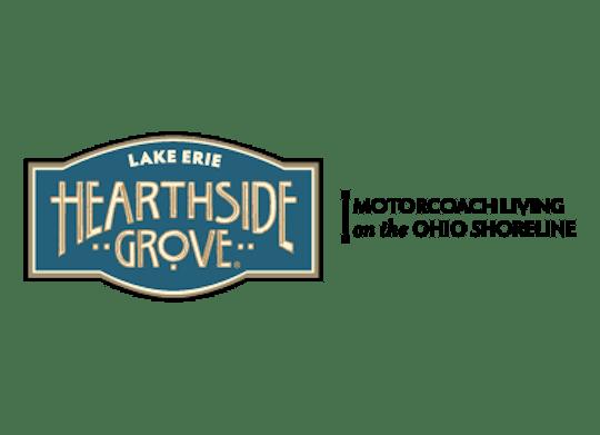 Hearthside Grove Lake Erie Logo Tagline
