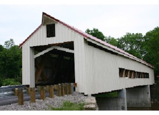 Mechanicsville Road Covered Bridge