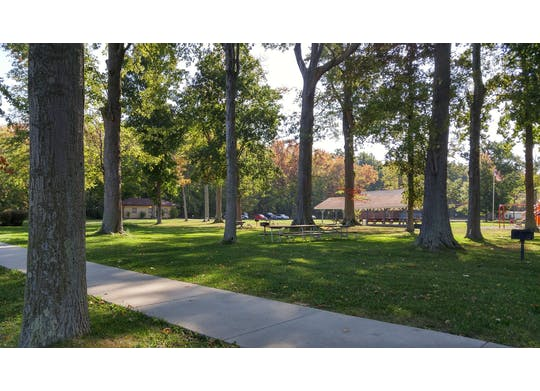 Geneva Township Park View Of Park
