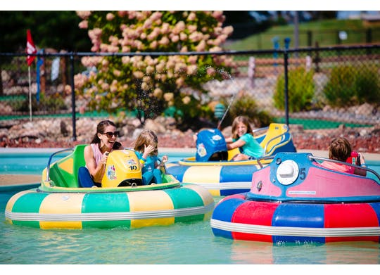 Adventure Zone bumper boats
