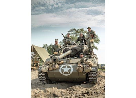 D-Day tank