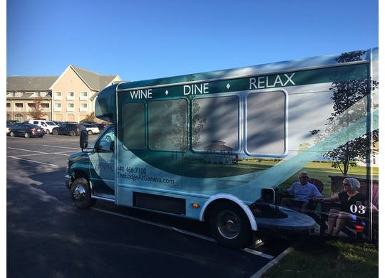 Wine Shuttle at The Lodge