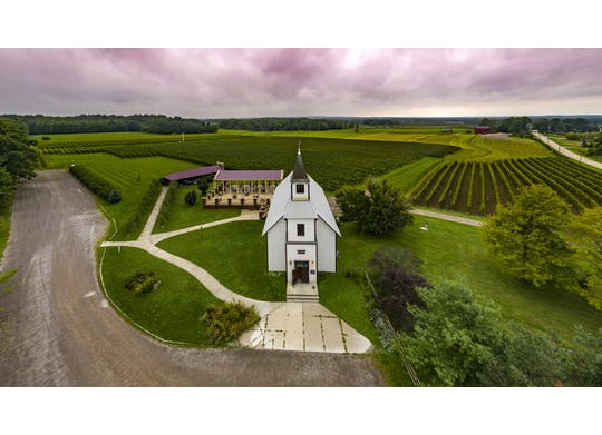 South River Vineyard drone