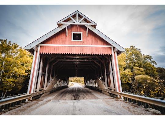Netcher Road Covered Bridge 1