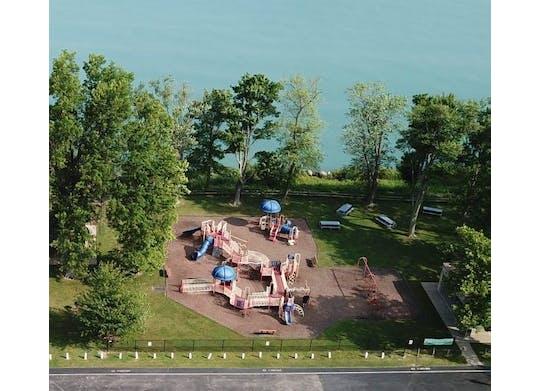 Saybrook Township Park Ariel View