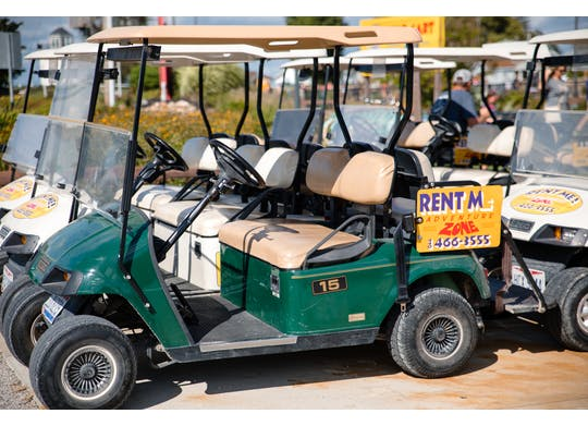Adventure Zone golf carts