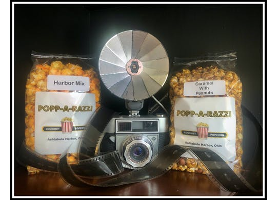Popp A Razzi Popcorn With Camera