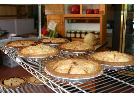 Robinson's Apple Barn pies