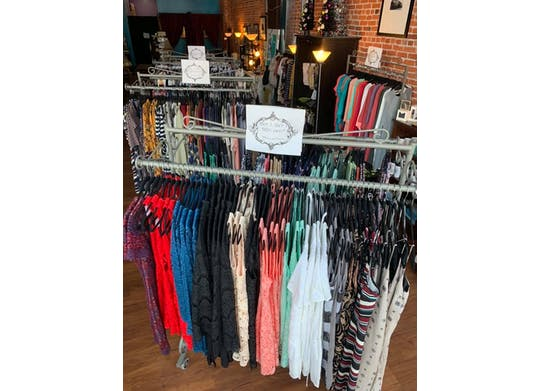 Heartmade Boutique Clothing Display
