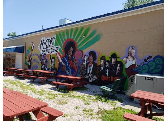 The Cove Mural