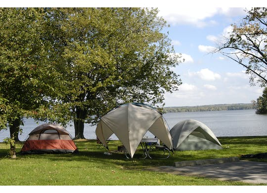 Pymatuning State Park Tents