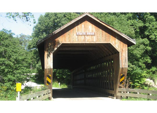 State Road Covered Bridge 1