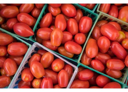 Ashtabula Farmers Market tomatoes