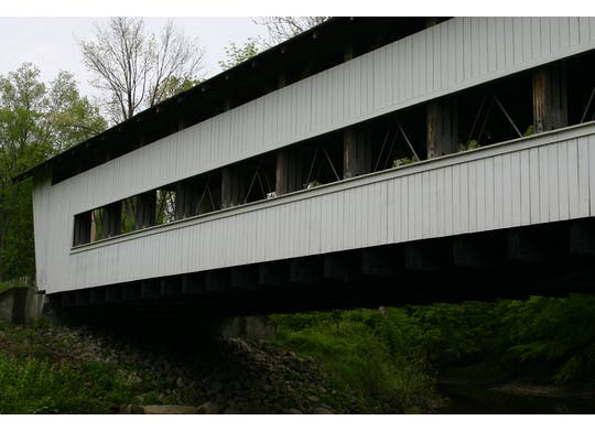 Giddings Road Covered Bridge 2